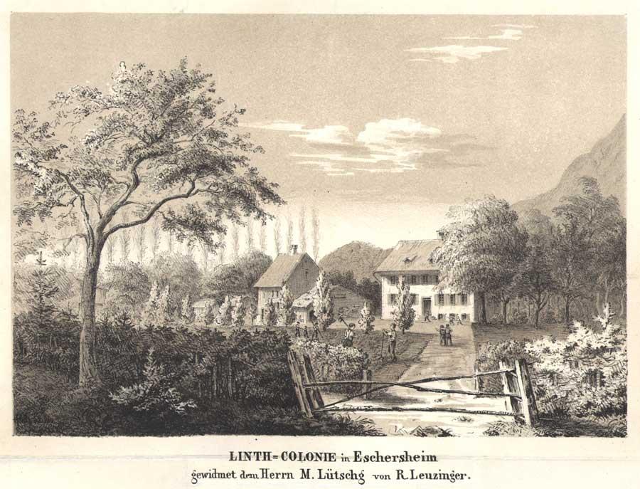 1857_LES-Linthkolonie,-Lithographie,-Ruedi-Leuzinger